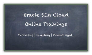 Oracle SCM Cloud Online Training