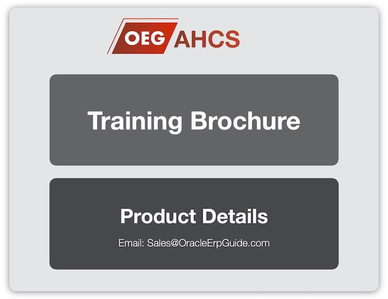 OEG - AHCS Training Brochure