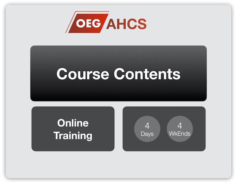 OEG - AHCS Training Contents